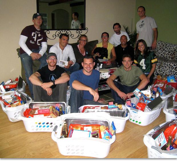 Basket Making Supplies San Diego : Giving back thanksgiving basket brigade fortunebuilders