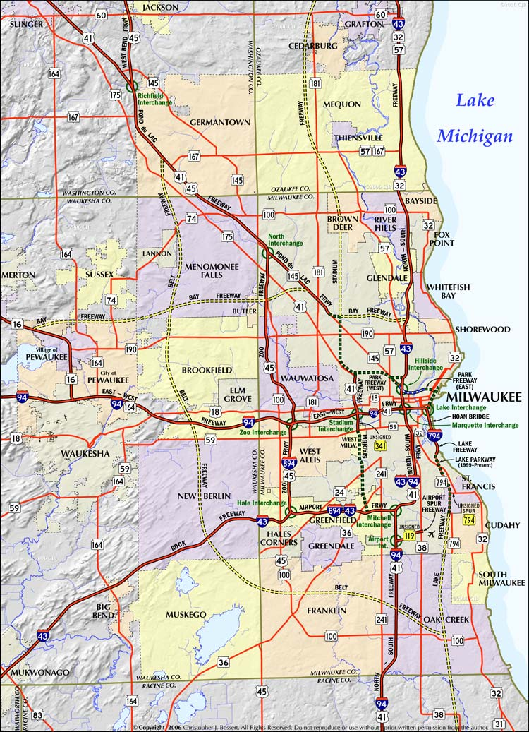 milwaukee-county-map