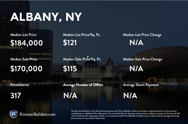 Albany infographic