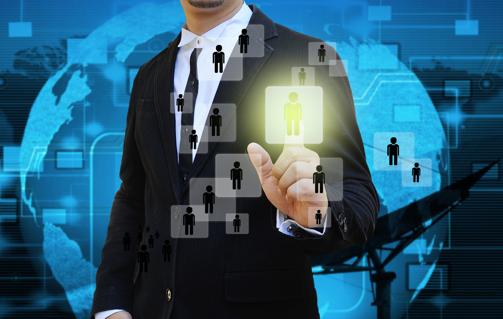 Man hiring the right employee