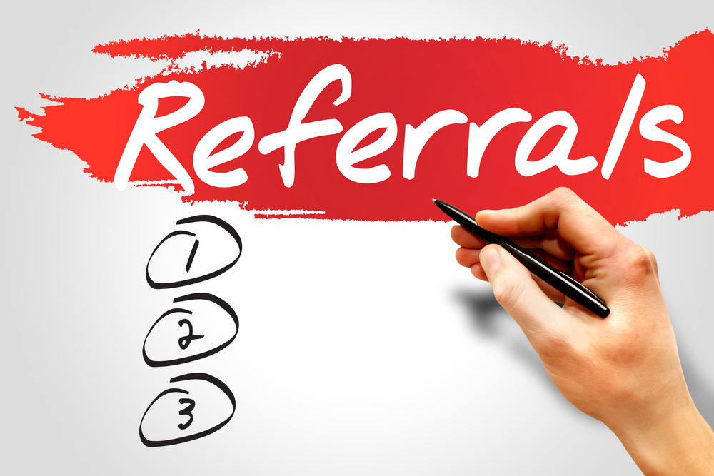 Referral list