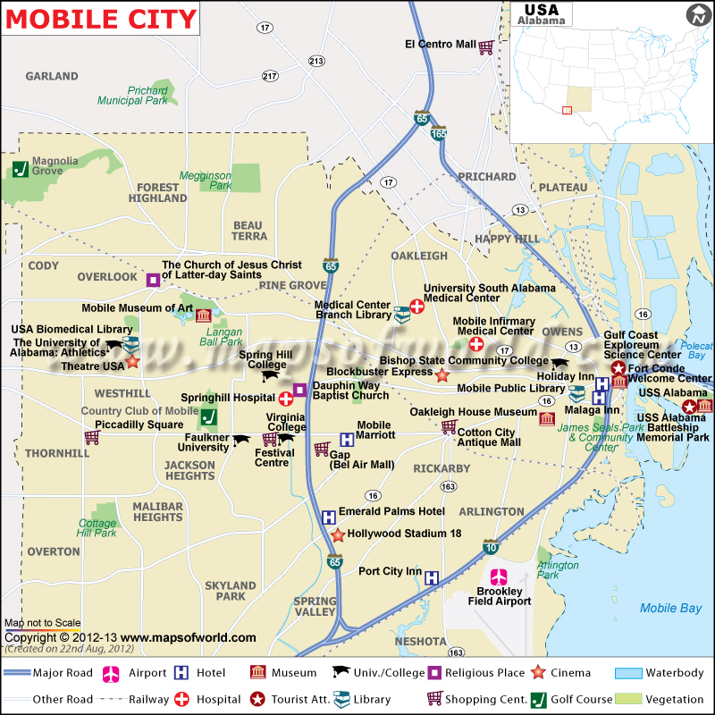 map of alabama cities with Mobile Real Estate And Market Trends on Verdal Norway moreover Uss Indianapolis Map besides Cheyenne Location On The Us Map likewise Indianapolis Downtown Map likewise North Dakota Location On The Us Map.