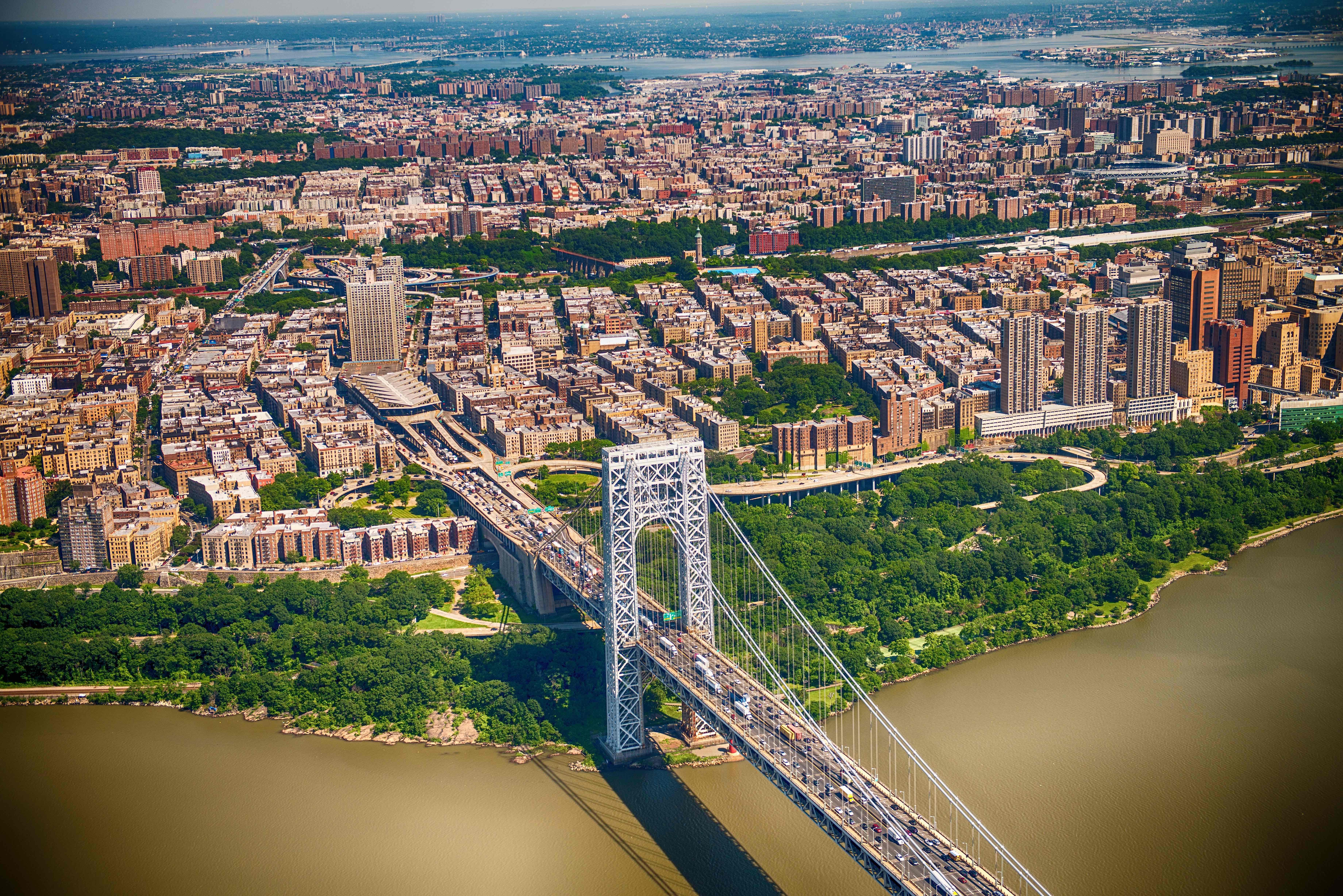 Bronx from Washington Bridge