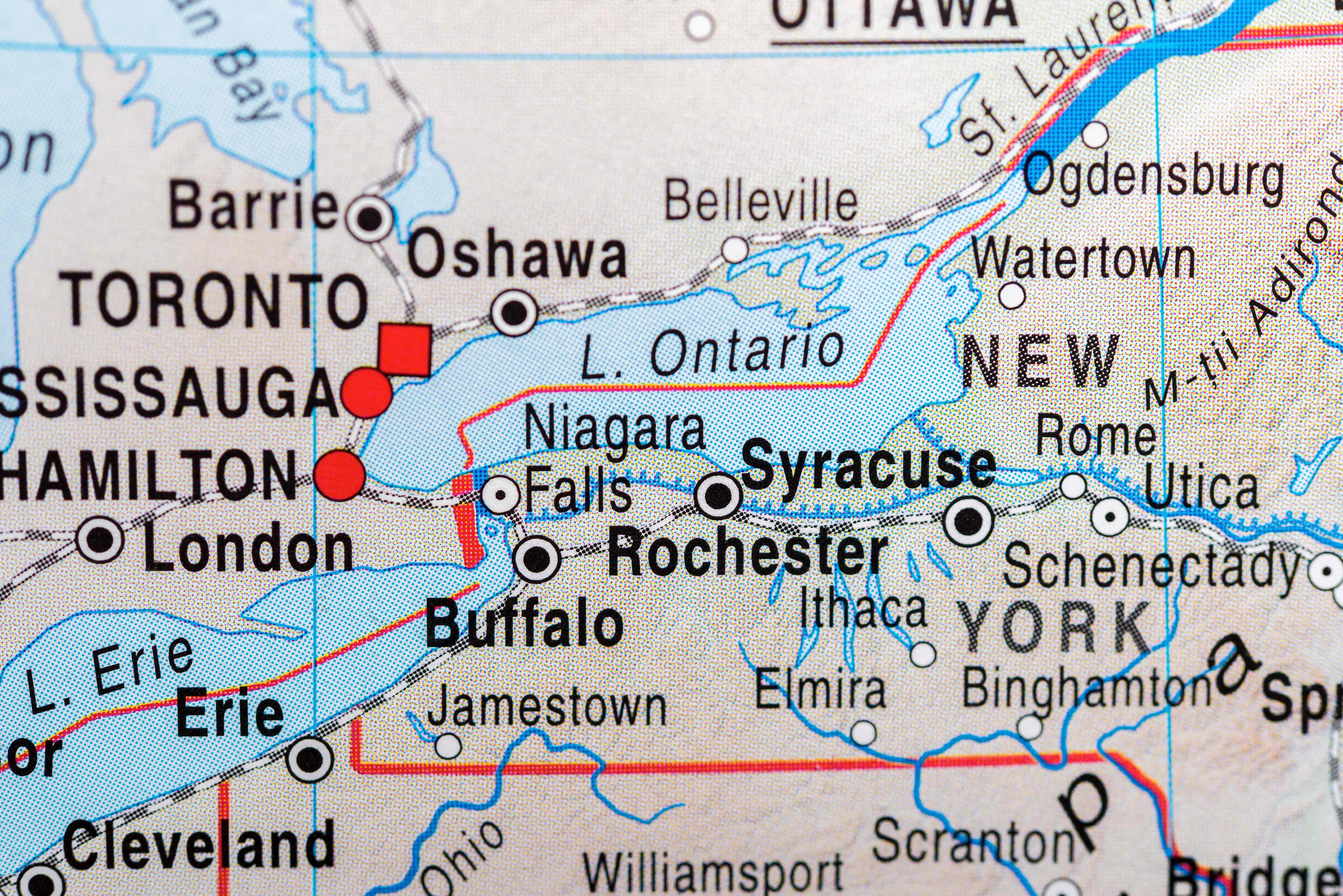 Rochester Real Estate And Market Trends - New york map rochester