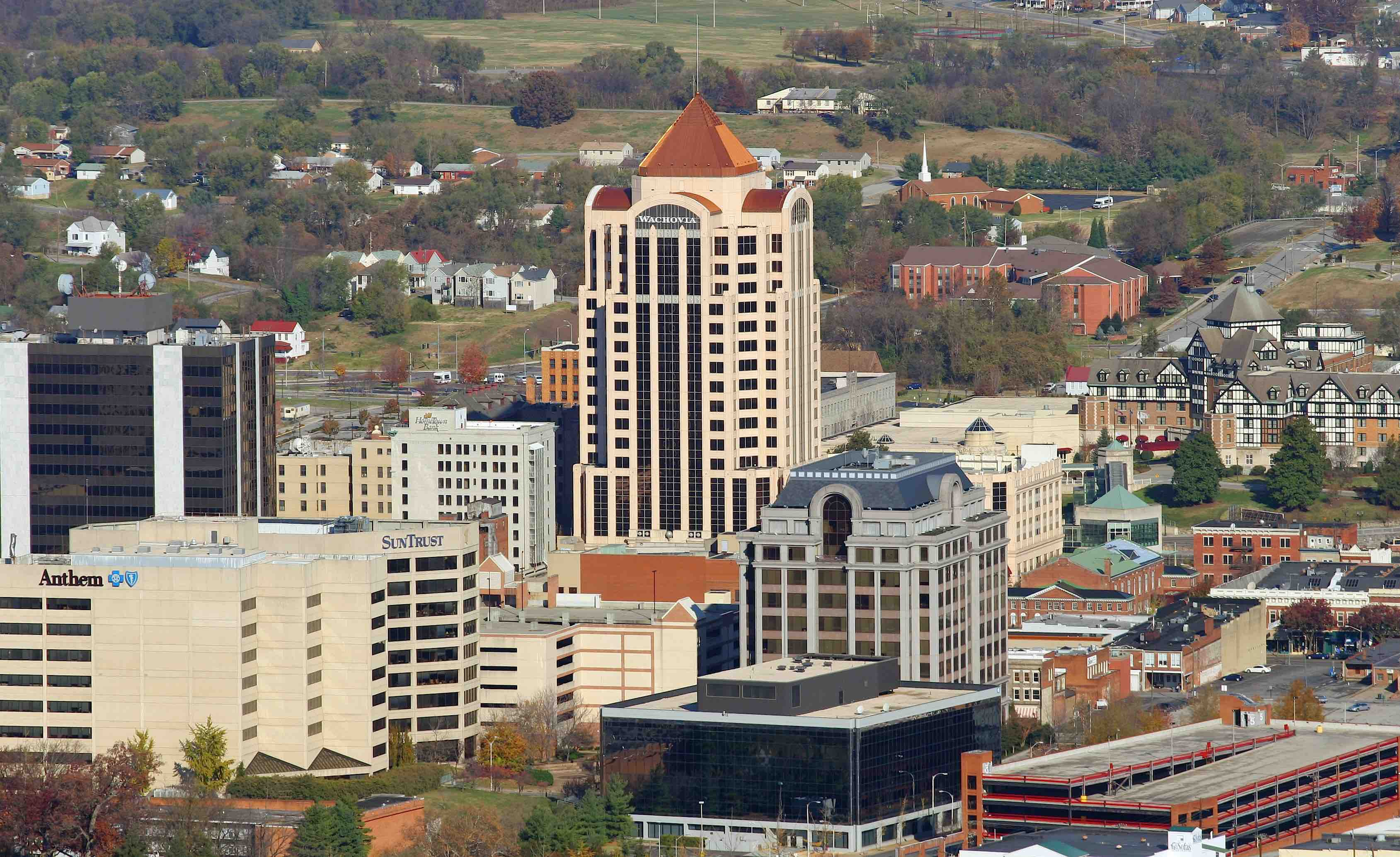 Downtown Roanoke, VA