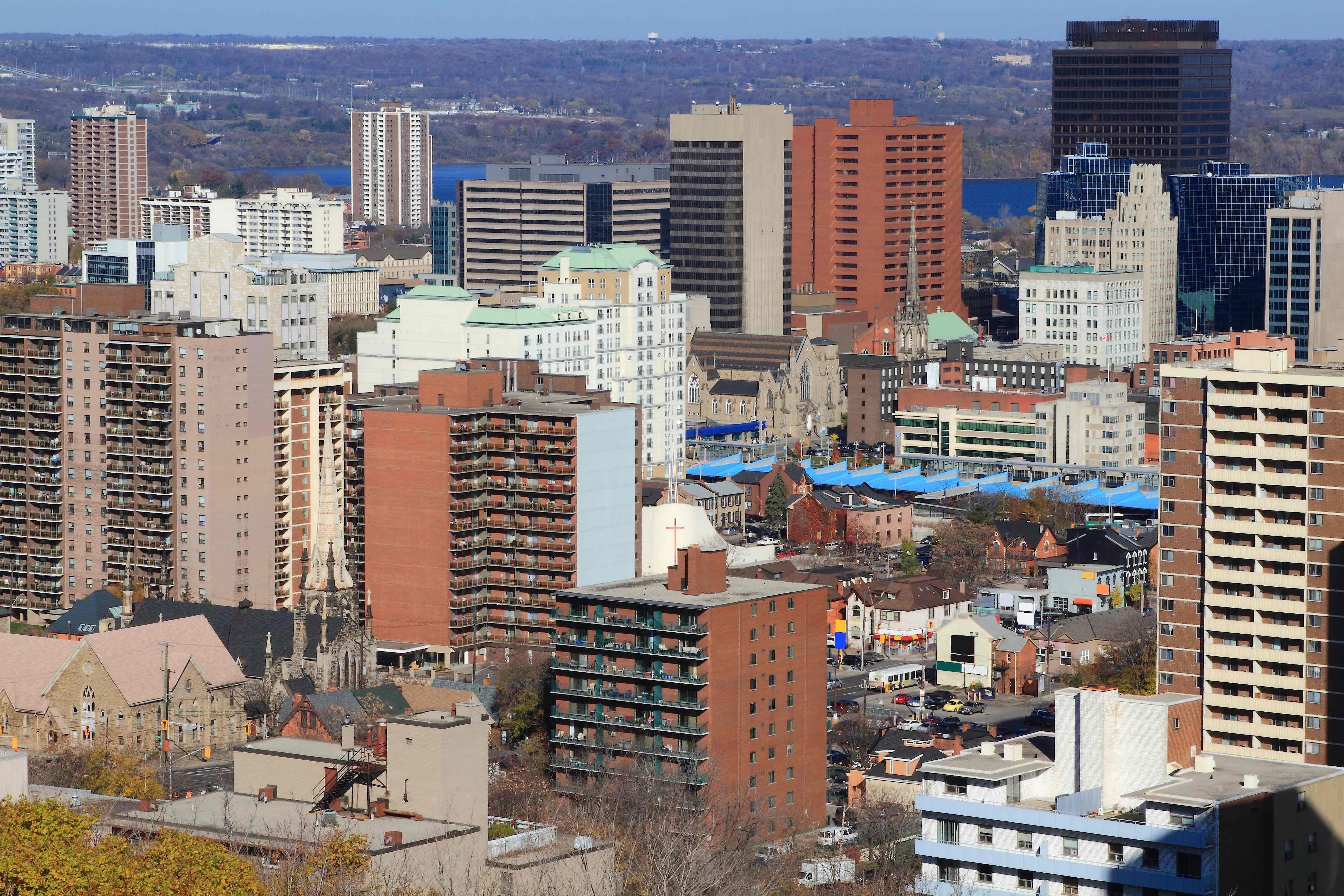 Skyline of Hamilton, Ontario