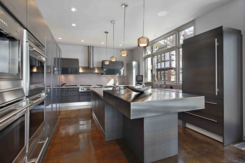 ultra modern kitchen