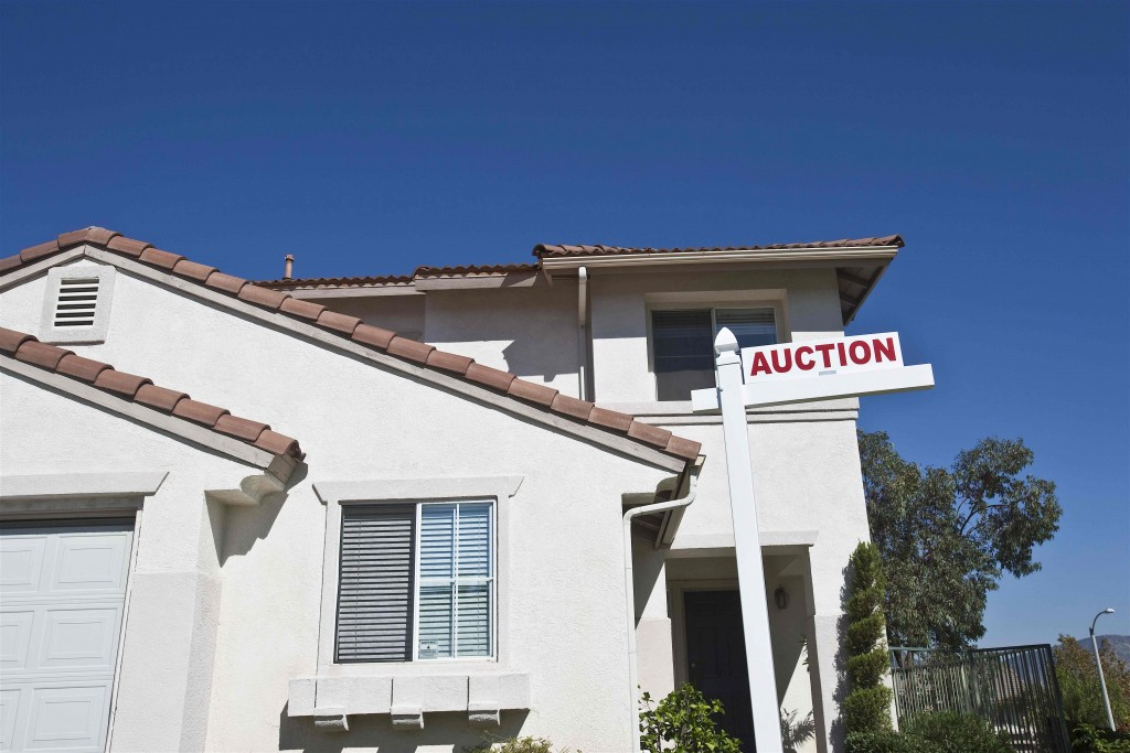REO property auction