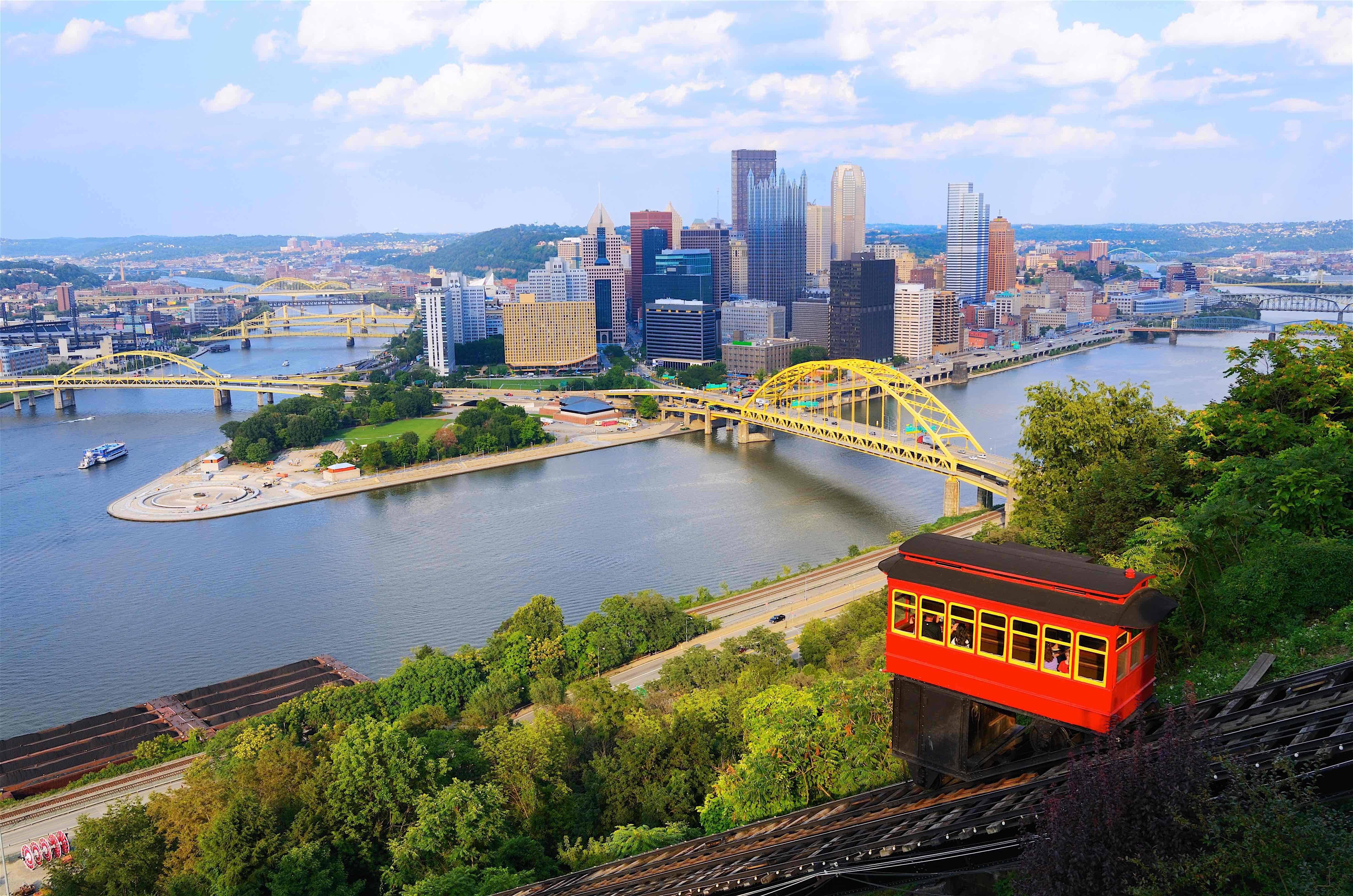 7.) Pittsburgh, PA