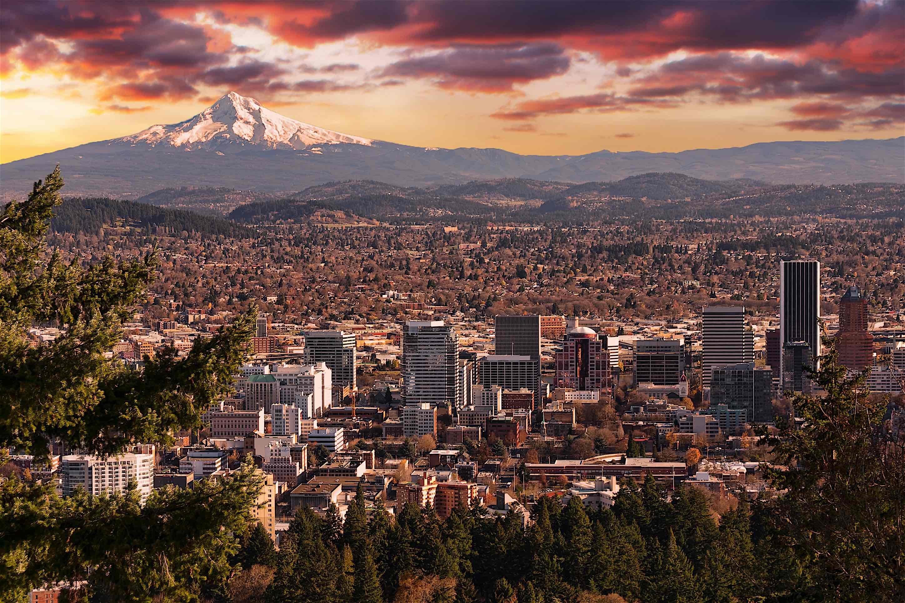 5.) Portland, OR