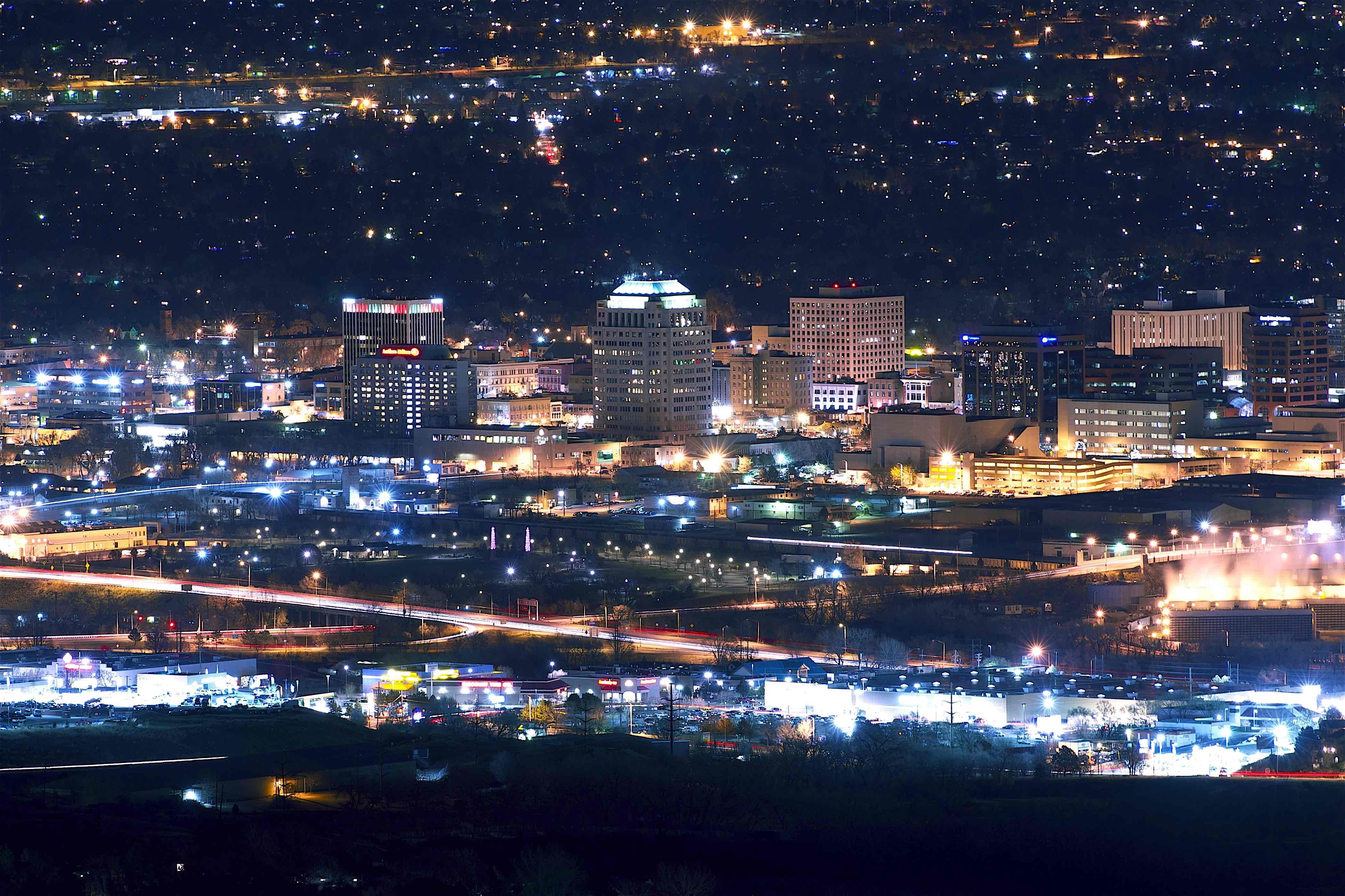 7.) Colorado Springs, CO