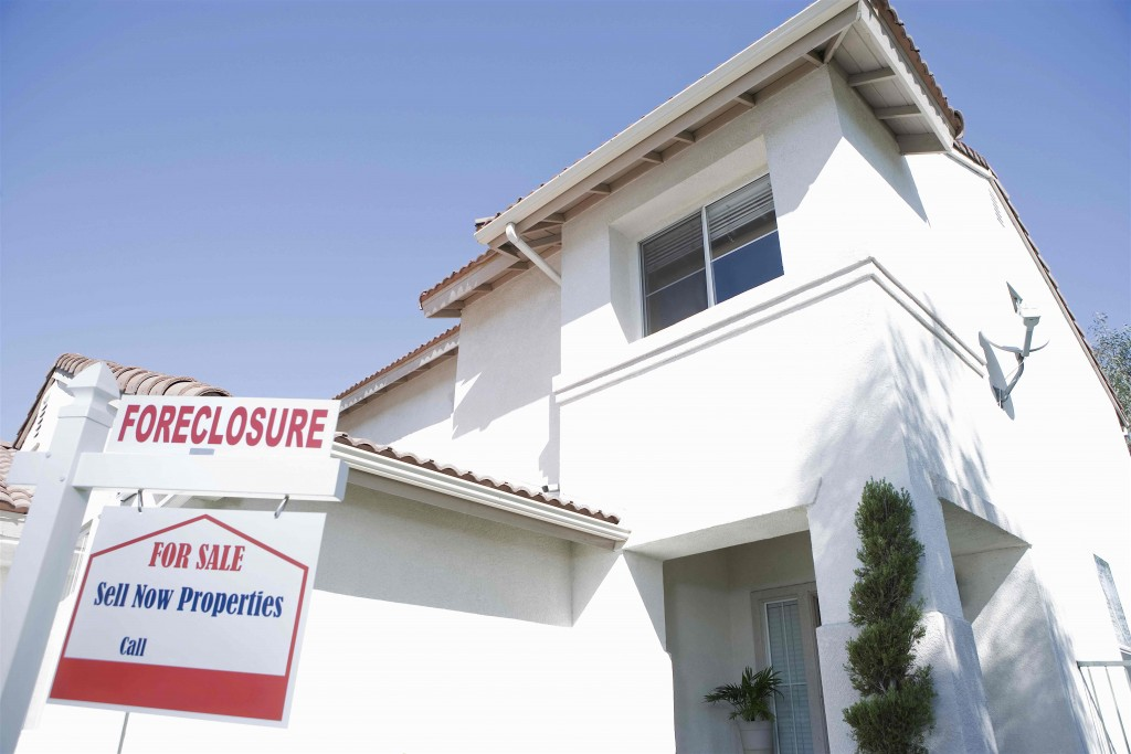 States with the most zombie foreclosures