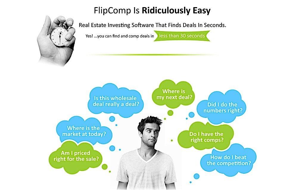 FlipComp real estate tool