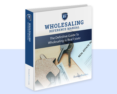 Wholesaling Reference Manual