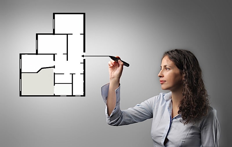 how to calculate square footage of a house