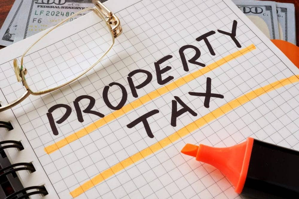 States with no property tax