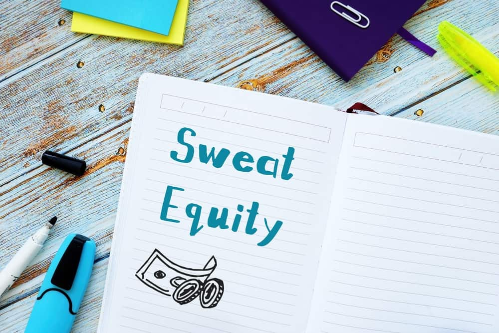 Sweat equity meaning