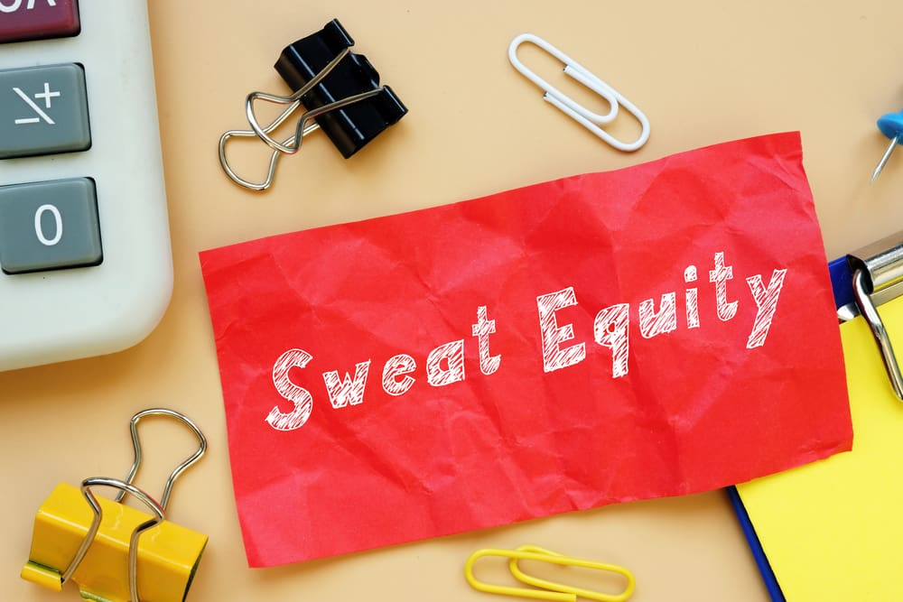 What is sweat equity
